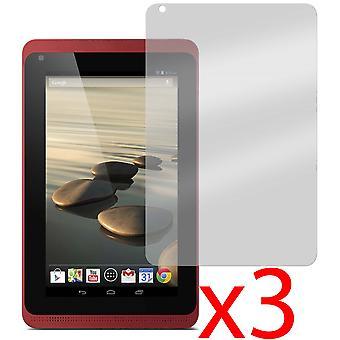 """3x Osłona ekranu dla Acer Iconia B1-720 i B1-721 7"""""""