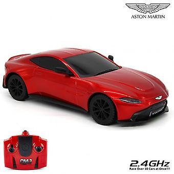 Aston Martin Vantage ραδιο ελεγχόμενο αυτοκίνητο 1:24 κλίμακα κόκκινο