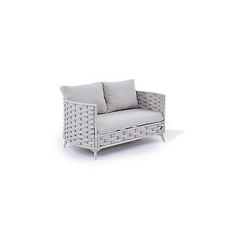Kötél Sofa Coco 146 cm - selyemszürke