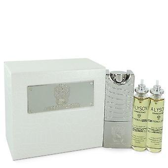 أليسون oldoini oranger moi eau de parfum رذاذ قابل لإعادة الملء يتضمن 3 × 20ml عبوات ورذاذ قابل لإعادة الملء من قبل alyson oldoini 551404 60 مل