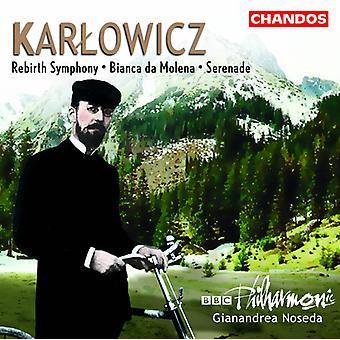 M. Karlowicz - Karlowicz: Rebirth Symphony; Bianca Da Molena; Serenade [CD] USA import