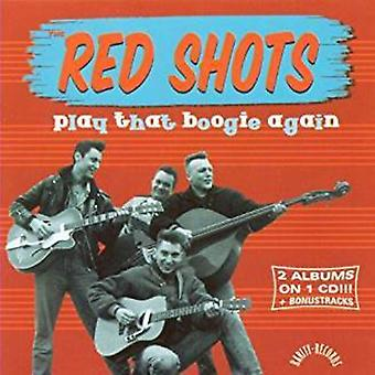 Red Shots - Play That Boogie Again [CD] USA import