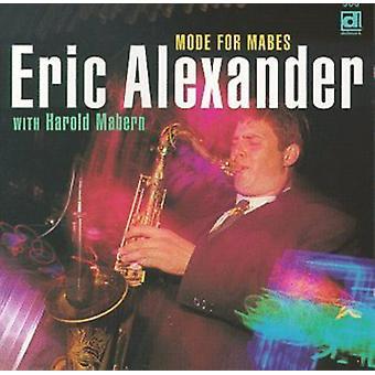 Eric Alexander-modo para Mabes [CD] EUA importação