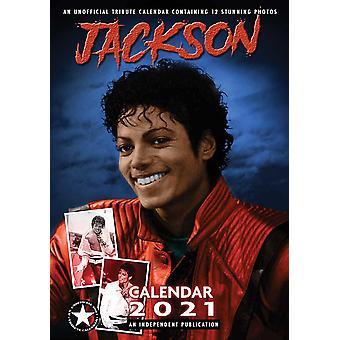 Michael Jackson Kalender 2021 Tribute Kalender DIN A3, Muur Kalender 2021, 12 Maanden, originele Engelse versie.