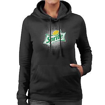 Sweat à capuche logo Sprite double citron pour femmes