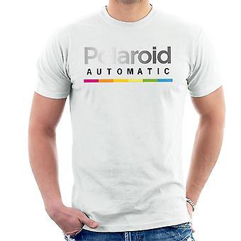 Polaroid bunte Farbverlauf automatische Men's T-Shirt