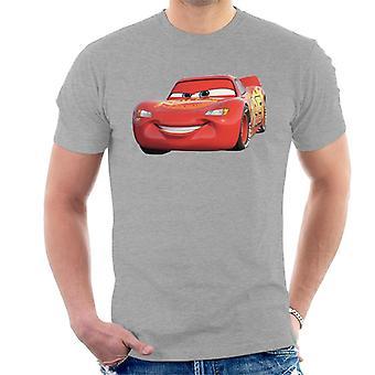 Disney Cars Lightning McQueen Smile men ' s T-shirt