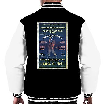 DJ International Kings Of House '86 Poster Men's Varsity Jacket