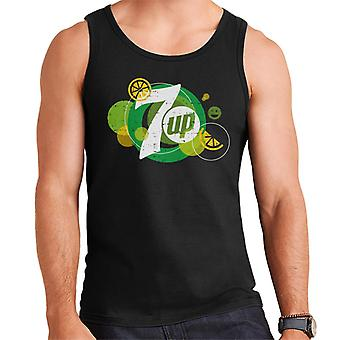 7UP Popfizz Lemon Logo Men's Vest