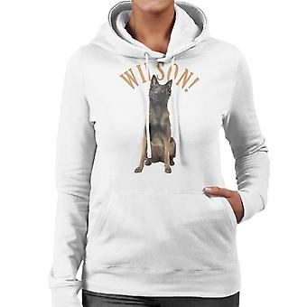 Friday Night Dinner Wilson Women's Hooded Sweatshirt