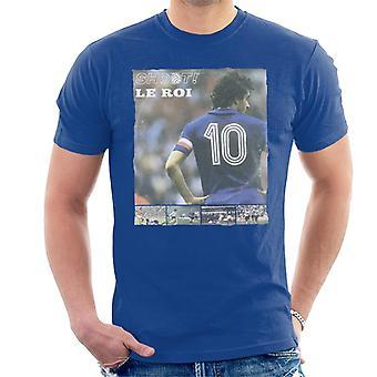 Shoot Magazine Michel Platini Le Roi Men's T-Shirt