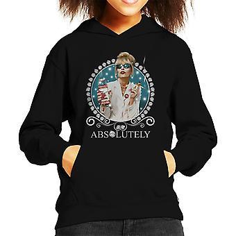 Patsy Absolutely Fabulous Kid's Hooded Sweatshirt