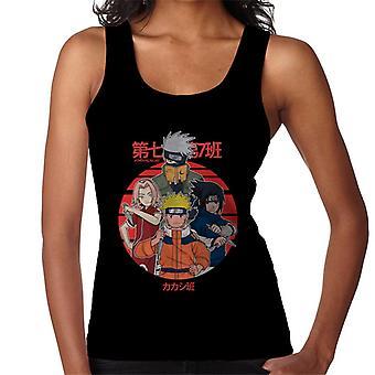 Aika seitsemän Naruto Naiset's Liivi