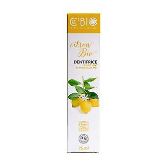 ホワイトニング精製レモン歯磨き粉 75 ml