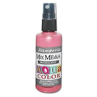 Stamperia Aquacolor Spray 60ml Pearl Pink
