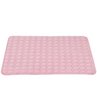 Homemiyn Dog Cooling Mat Ice Silk Pet Self Cooling Pad