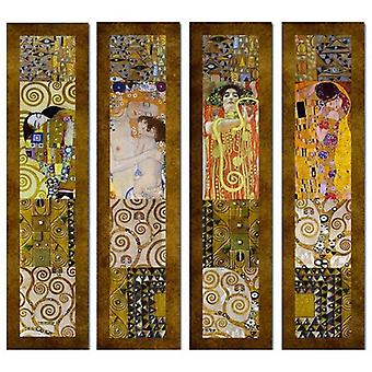 Print on canvas - Klimt Paintings - Composition 1 - Painting on Canvas, Wall Decoration