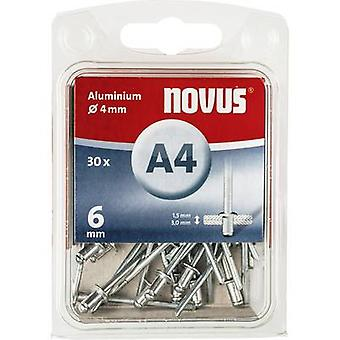 Novus 045-0023 Blind klinknagel (Ø x L) 4 x 6 mm 30 PC('s)