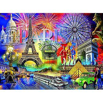 Puzzle - Ceaco - Cities. Villes. Ciudades - Paris 1000pcs New 3394-2