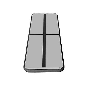 100x60x20CM Gymnastics Tumbling Mat+400W Inflator Black
