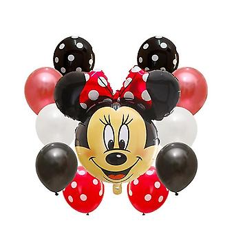 Minnie & Mickey Mouse Foil Balloons For Decoration
