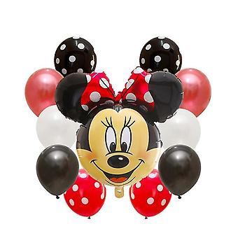 ميني ميكي ماوس احباط البالونات للديكور