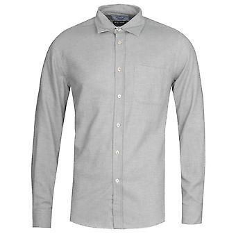 Chemise grise de flanelle portugaise