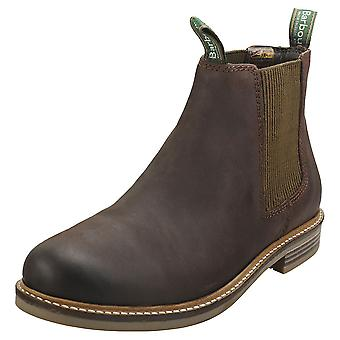 Barbour Farsley Mens Chelsea Boots in Chocolate