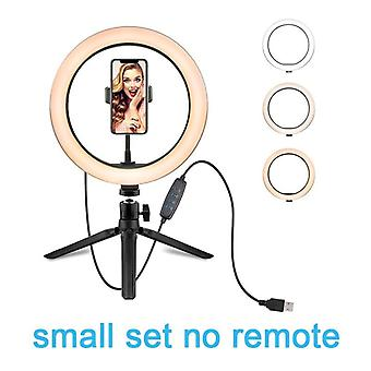 10.2 Inch Ring Light With Stand - Led Camera Selfie Light Ring For Iphone Tripod And Phone Holder For Video Photography