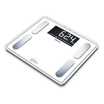Digital Bathroom Scales Beurer BF140 200 Kg White