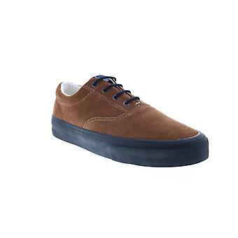 Sebago John Suede Mens Brown Sneakers Lifestyle Schoenen