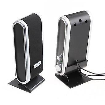 Usb Portable-mini Bookshelf Speaker For Phone/laptop/computer