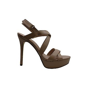 Guess Women's Shoes Lexa Leather Open Toe Special Occasion Strappy Sandals