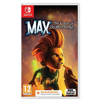 Max The Curse of Brotherhood Nintendo Switch Game [Code In A Box]