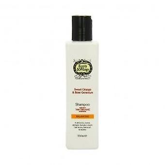 Roots & Wings - Balancing Sweet Orange & Rose Geranium Shampoo