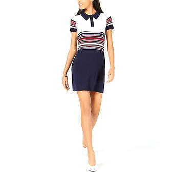 Maison Jules | Striped Polo Sweater Dress