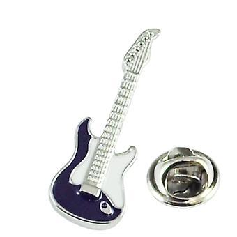 Solmiot Planet Blue Electric Guitar Lapel Pin Badge