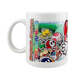 Papier Mario, Mug - Paysage Découpé
