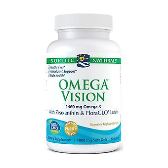 Omega Vision, 1460mg 60 softgels