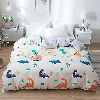 dual-sided Duvet Cover  soft Comfortable Cotton Printing Comforter -textiles Quilt Cover set 12