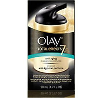 Olay Total Effects 7-In-1 Anti-Aging Daily Moisturizer, Fragrance Free 1.7 oz