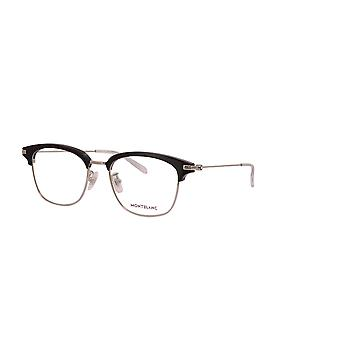 Montblanc Asian Fit MB0141OK 001 Black-Silver Glasses