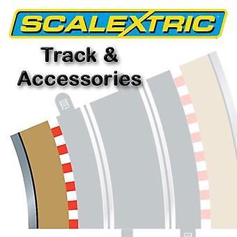 Scalextric Track - Radius 3 Inner Border/Bar 22.5o