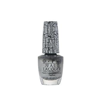 OPI Nail Lacquer Silver Shatter 15ml Colour Polish Manicure Varnish Shimmer