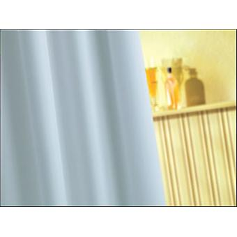 Croydex Polypropylene Shower Curtain White AF159022