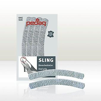 "Pedag ""SLING"" Anti-Slip Suede For Sling Back Shoes and Sandals 2 PAIRS X 2 PACKS"