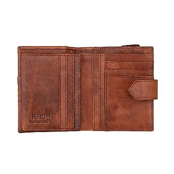 Primehide Leather Womens Small Purse RFID Blocking Card Wallet Arizona Collection 3601