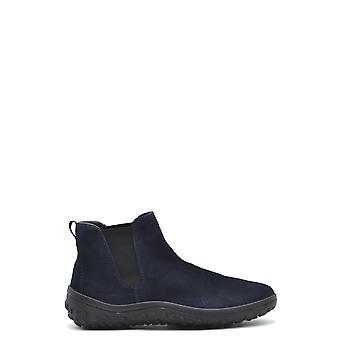 Car Shoe Ezbc029030 Men's Blue Suede Ankle Boots