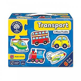 Boomgaard speelgoed vervoer puzzels