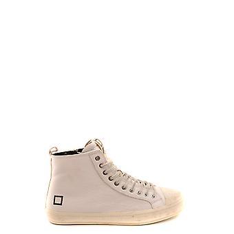 D.a.t.e. Ezbc177028 Men's White Leather Sneakers
